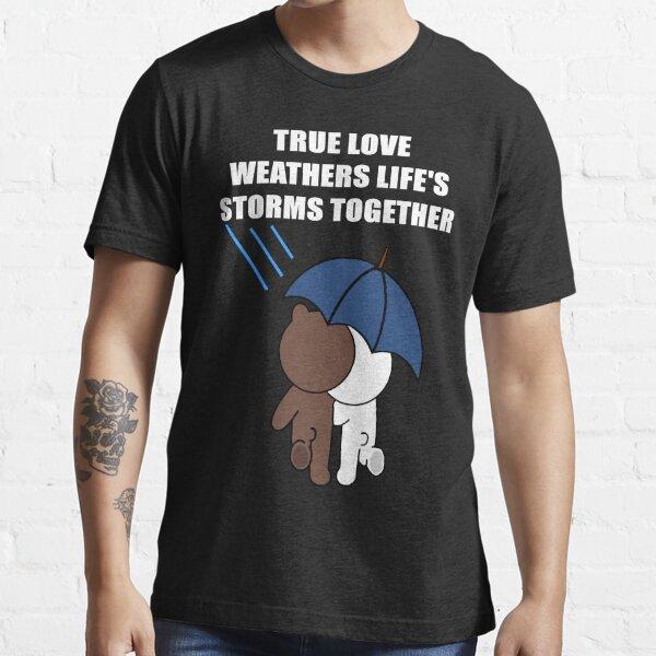 Lindo oso pardo y las tormentas de la vida de Cony Camiseta esencial