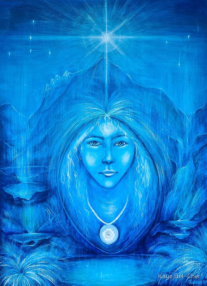 Navajo Creation Goddess by Kaye Bel -Cher