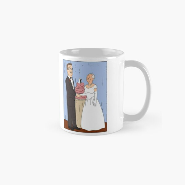 Hank and Cotton Wedding Photo Classic Mug