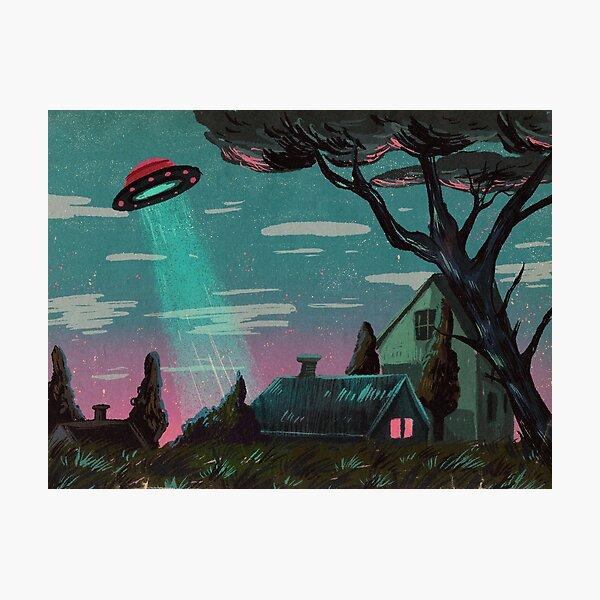 Alien Invasion Photographic Print