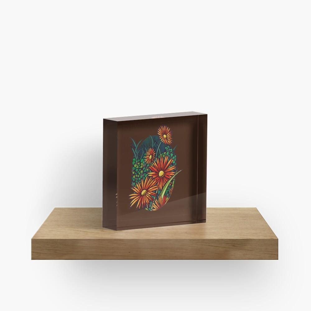 Wild Flowers  Acrylic Block