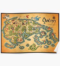Hoenn Map Poster