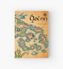 Hoenn Map Hardcover Journal