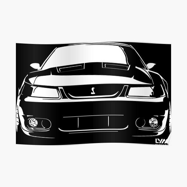 03-04 Ford Mustang Cobra Terminator Poster