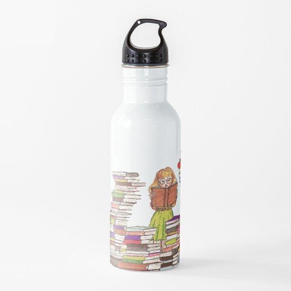 Buchwurm Trinkflasche