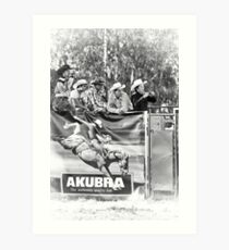 Myrtleford Rodeo 5 Art Print