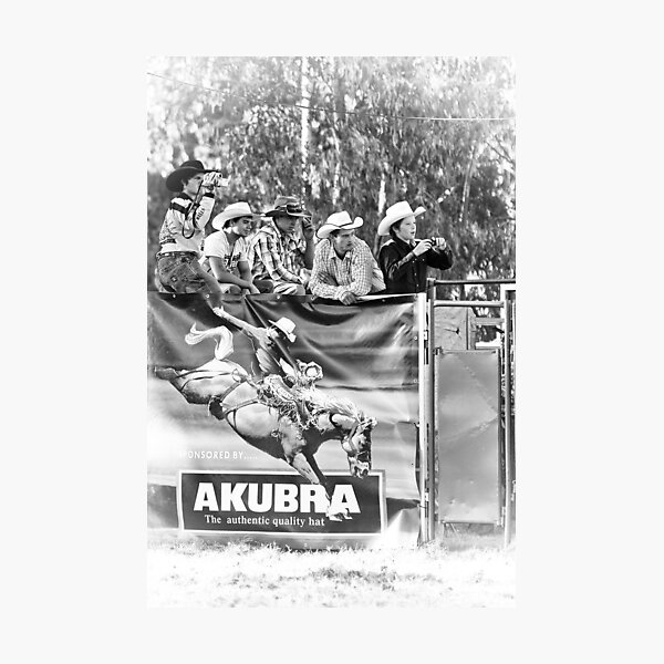 Myrtleford Rodeo 5 Photographic Print