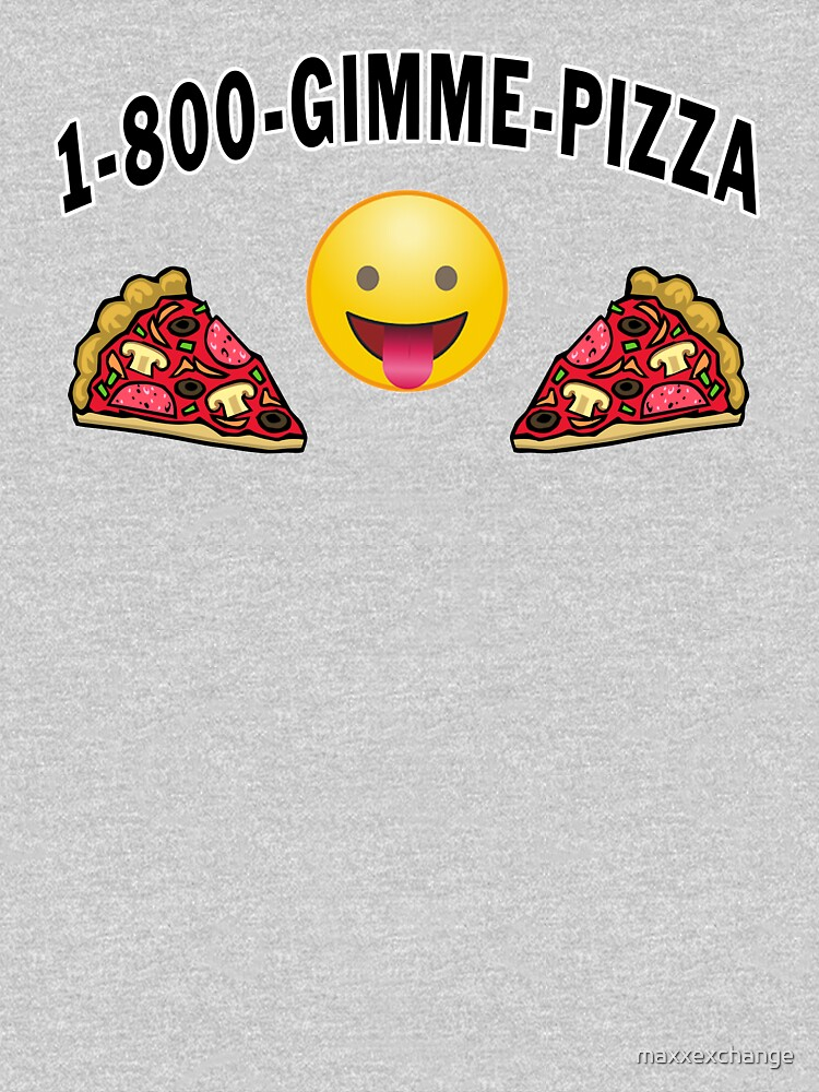 Pepperoni Pizza Junk Food Lovers Foodie gift. by maxxexchange