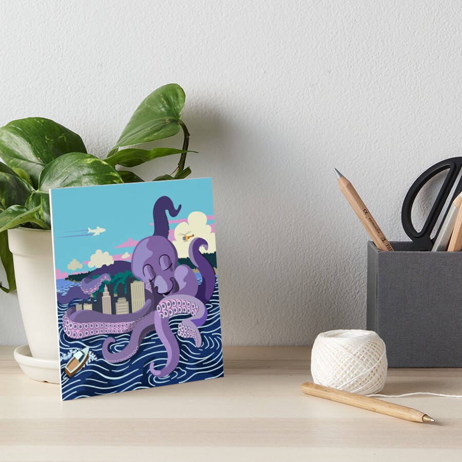 Monster Love Art Board Print