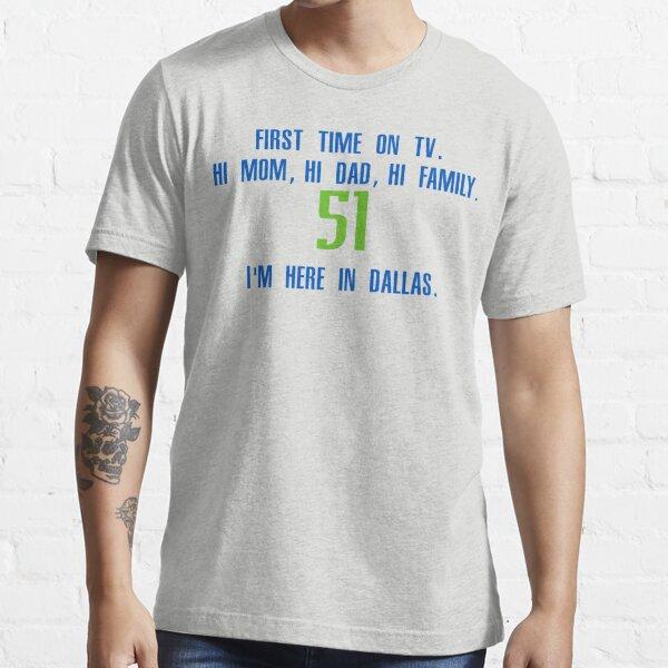 Dallas Basketball Boban Marjanovic Dallas Font Boban Marjanovic Men/'s Baseball T-Shirt
