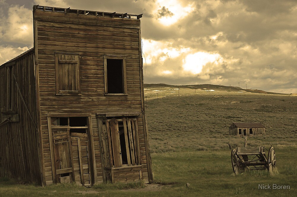 Bodie California 3 by Nick Boren