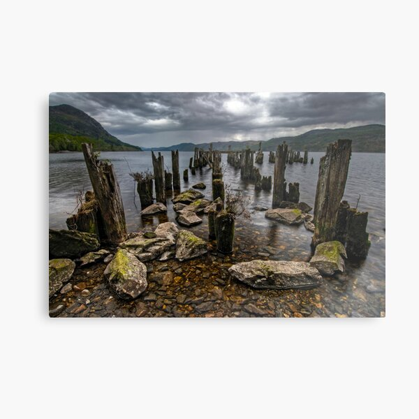 Loch Ness, the Search for Nessie Metal Print