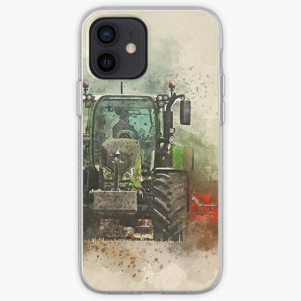 Greffe de tracteur Fendt Coque souple iPhone