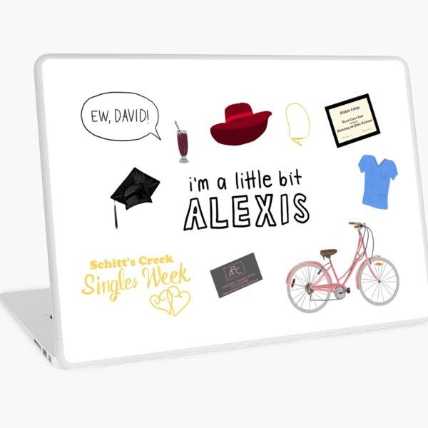 Ich bin ein bisschen Alexis Laptop Folie