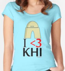 I <3 KHI Women's Fitted Scoop T-Shirt