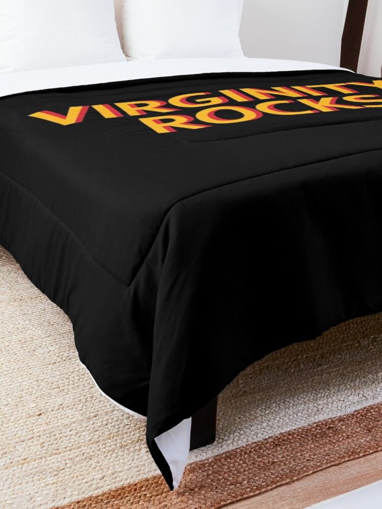 Alternate view of Virginity Rocks  Comforter