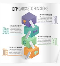 ISFP Sarcastic Functions Poster