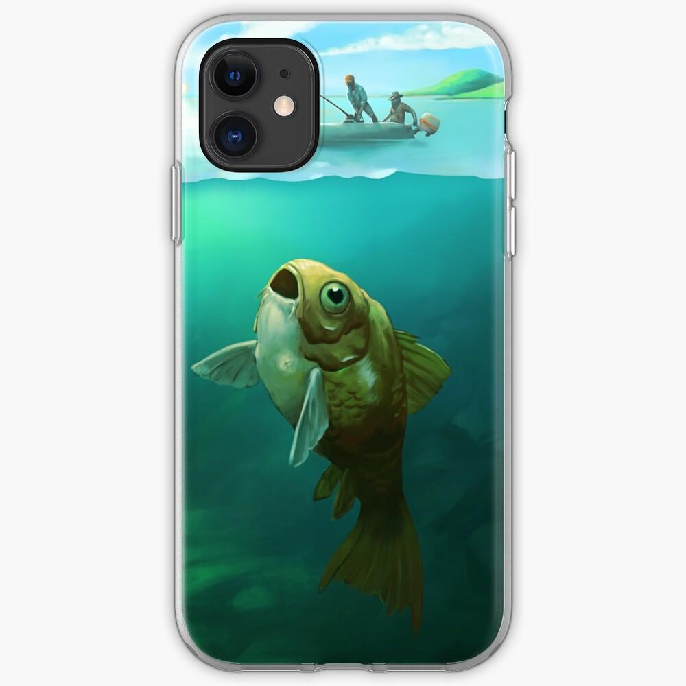 Big Fish | Digital Illustration iPhone Case & Cover