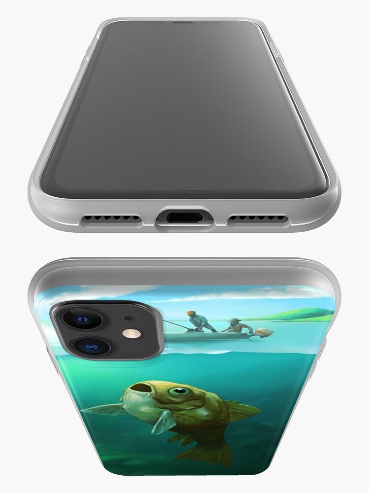 Alternate view of Big Fish | Digital Illustration iPhone Case & Cover