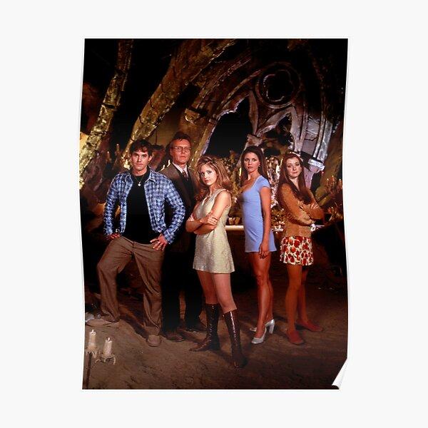 Buffy Gang Poster