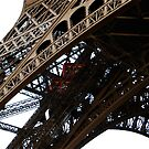 the towering Eiffel.  by geof