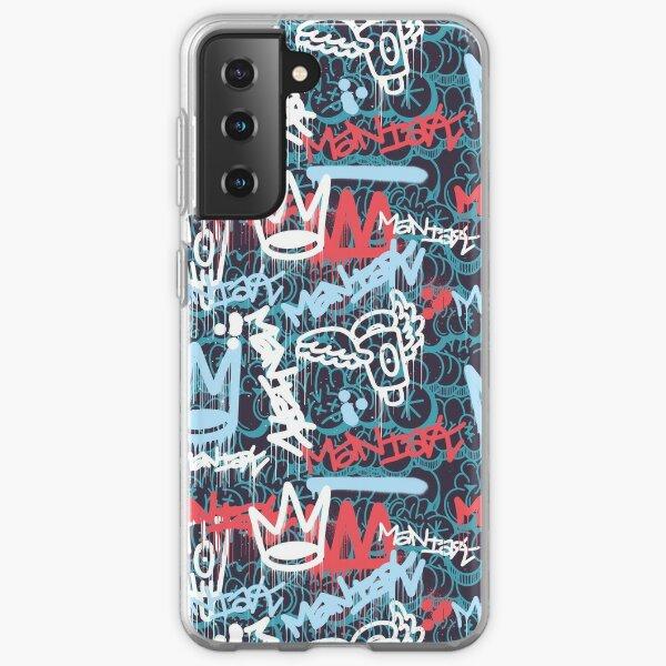 Maniak Tag & Throwie Patterned Print  Samsung Galaxy Soft Case