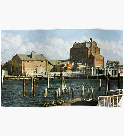 ~ The Old Flour Mill ~ Poster