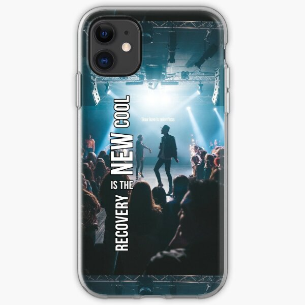Recovery Is The New Cool - Concert iPhone Soft Case