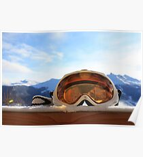 Ski Goggles Poster