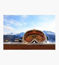 Ski Goggles Photographic Print
