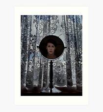Look into the mirror Art Print