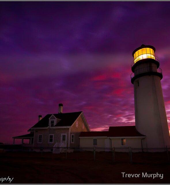 Highland Light Truro Ma by Trevor Murphy