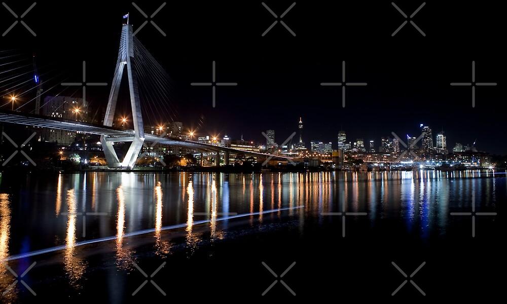 Sydney skyline by Adriano Carrideo