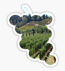 Napa Valley Vineyard Sticker