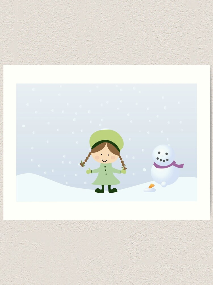 Alternate view of winter Art Print