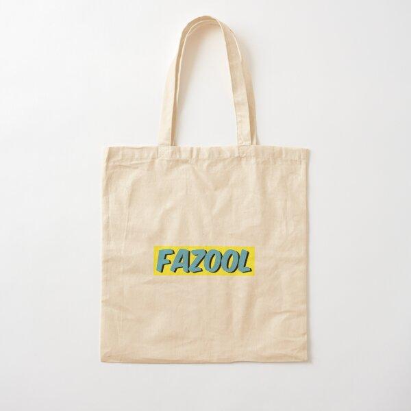 Fazool Cotton Tote Bag