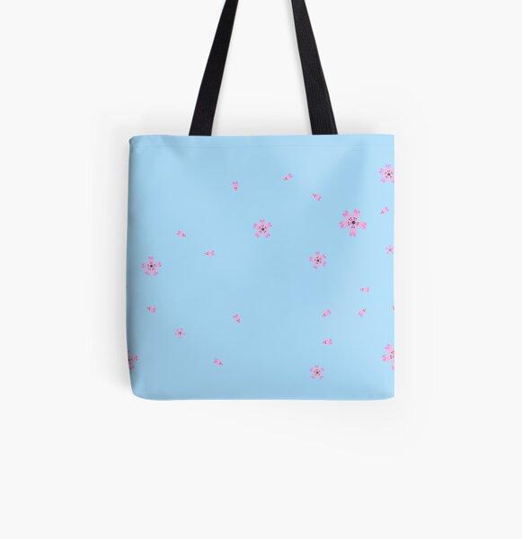 Sakura Blumen Allover-Print Tote Bag
