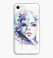 Lunar mistery iPhone Case/Skin
