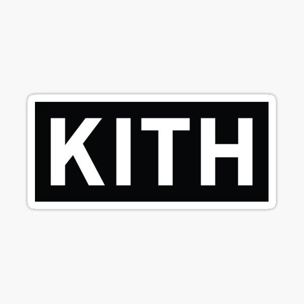 Kith Black BOGO Pegatina