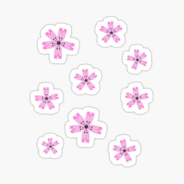 Sakura flowers Sticker