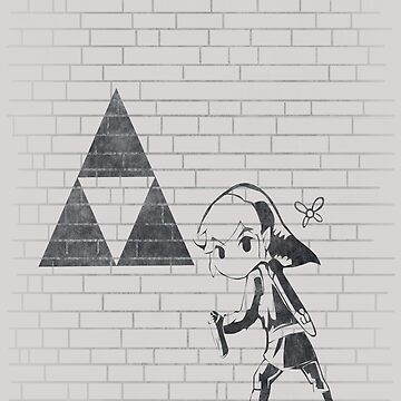 Banksy Triforce by MP97Work