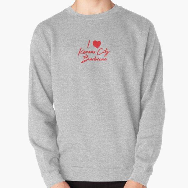 I Love Kansas City Barbecue  Pullover Sweatshirt