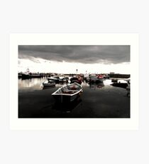 Paddys Hole  South Gare Art Print