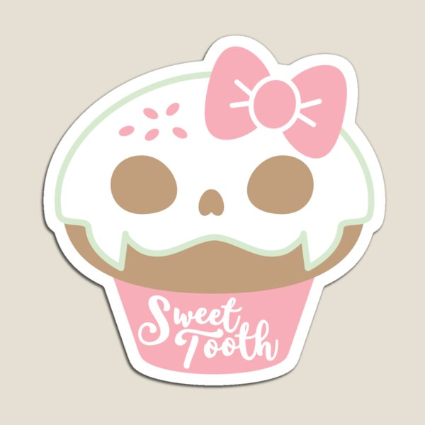 Sweet Tooth Cafe Magnet