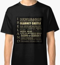 Ireland Famous Landmarks Classic T-Shirt