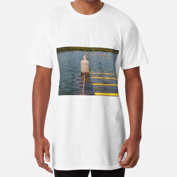 Tidal Pool High Tide at Yattalunga Australia Long T-Shirt