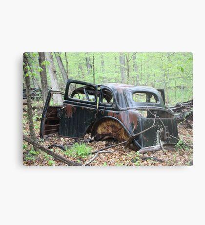 January Motor Car Metal Print