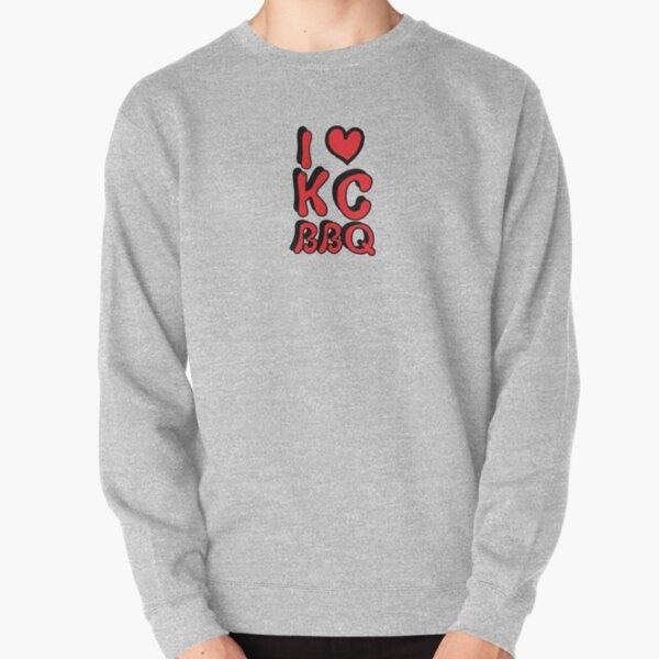 I Love KC BBQ Pullover Sweatshirt
