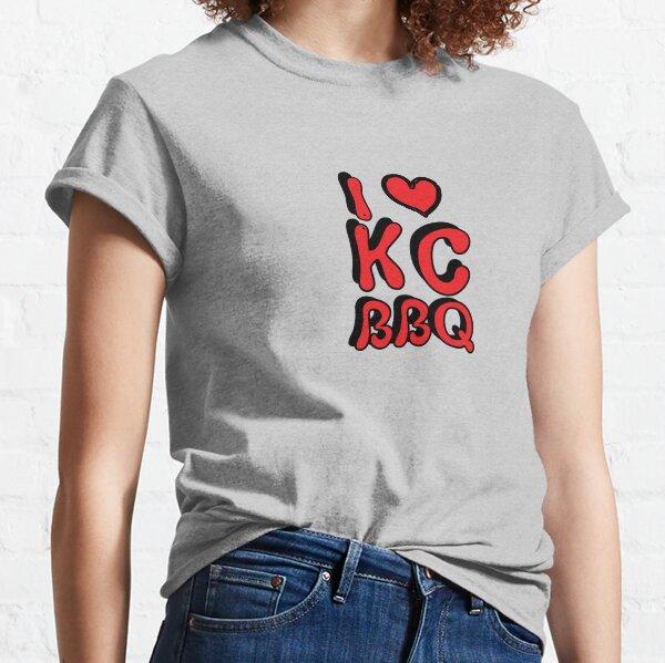 I Love KC BBQ Classic T-Shirt