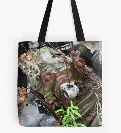 February Old Car Tote Bag